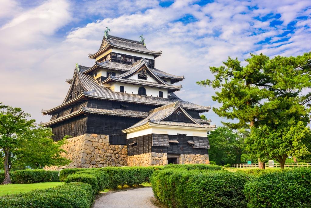 出雲大社から松江城へ